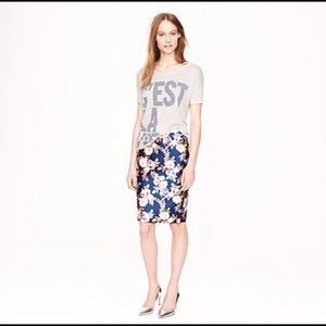 J.Crew Collection No 2. pencil in antique floral